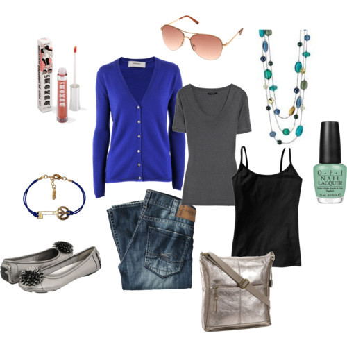 OOTD: Friday, January 27, 2012 by whatwouldruthdo featuring glass jewelryNarciso Rodriguez scoop neck top£216 - theoutnet.comCashmere top€160 - veryeickhoff.comOld navy$6 - oldnavy.gap.comEttika layered jewelry$55 - maxandchloe.comGold shades$28 - topshop.comSilver Jeans Jeans Straight Leg€159 - conleys.deMermaid's Tears - OPI - Green - Nail Polish - Beauty - Fashion…£135 - nelly.com
