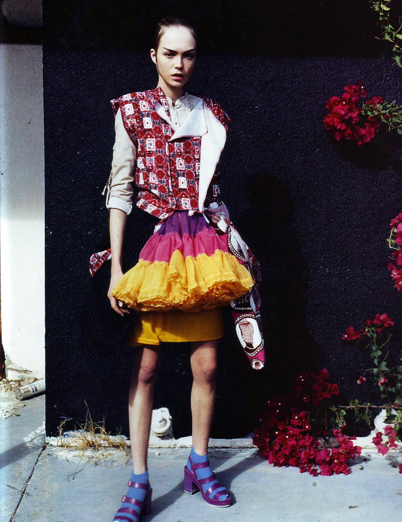 """Collections"" :// Model: Siri Tollerod Photographer: Nick Haymes Magazine: i-D March 2008"