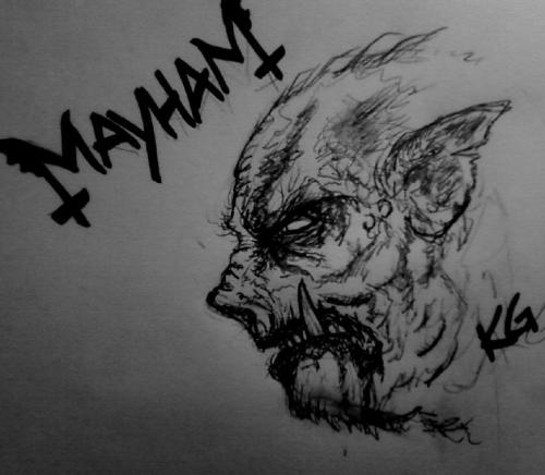 kgthunder:  'Mayham' By me Any more ideas? I'm boooored.