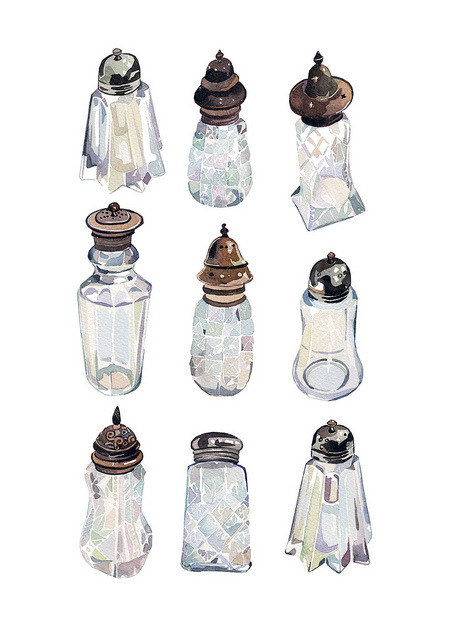 floatingthoughtlessly:  vintage sugar shakers by holly exley on flickr