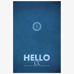 Fab.com Flash Sale. Hello IT Print 13x19, 30% offFab.comGraphic artist Christian Petersen has created a new series of prints inspired by quotes from BBC's The IT Crowd. The Hello IT Print depicts quirky Brit humor with the Apple power button as a focal point, bold typography and a textured-blue background. A conversation piece without a doubt, this print is a must-have for any fan of Reynholm Industries' very own IT team—slacker Roy, socially inept Moss and boss-lady Jen.