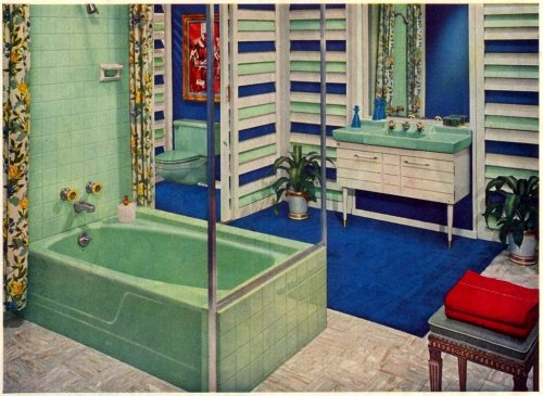 "Bathroom Fixtures Ad 2  ""Better Homes and Gardens""September 1959"