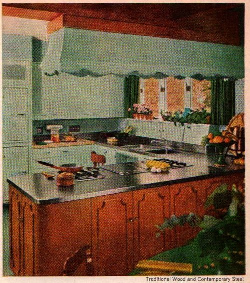 "St. Charles Custom Kitchens Ad  ""Better Homes and Gardens""September 1959"
