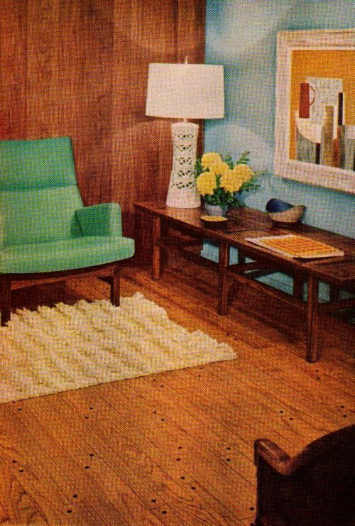 "Bruce Flooring Ad  ""Better Homes and Gardens""September 1959"