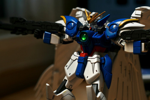 "r3ji:  ""W-Gundam Zero Custom"" by paomont on Flickr."