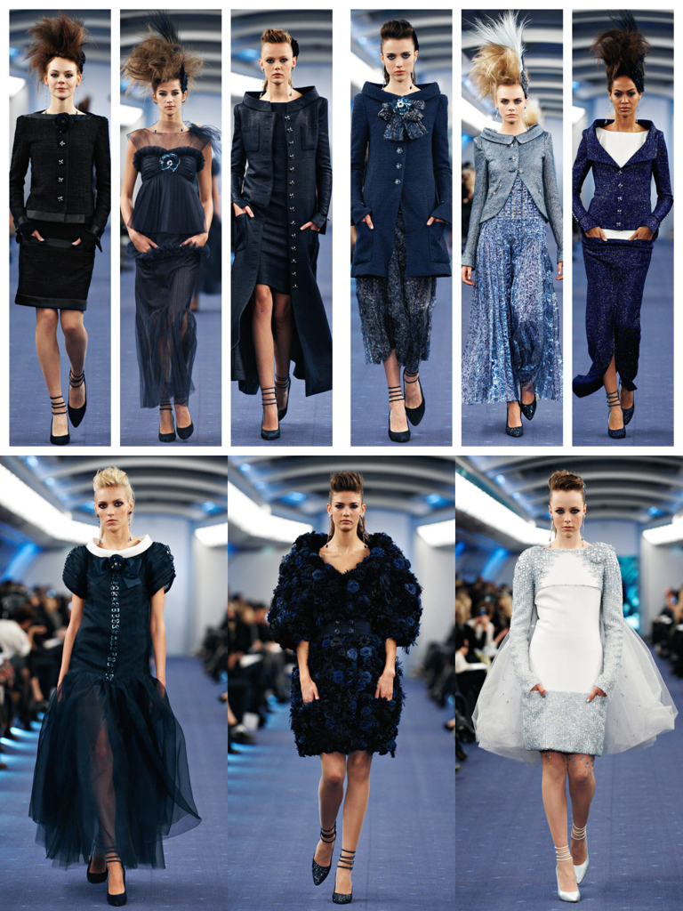 CHANEL Spring-Summer 2012 Haute Couture Collection.