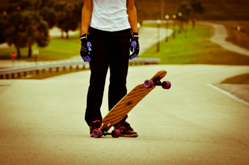 I miss longboarding season, so much!