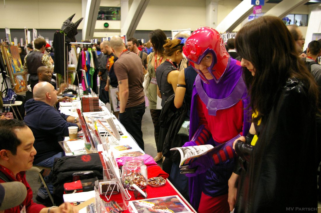 Mag: (neato). WonderCon. San Francisco. 2011. Exhibit Hall East. Artists' Alley.