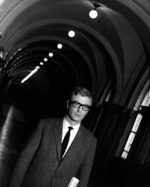 theswingingsixties:  Michael Caine in 'The Ipcress File', 1965.