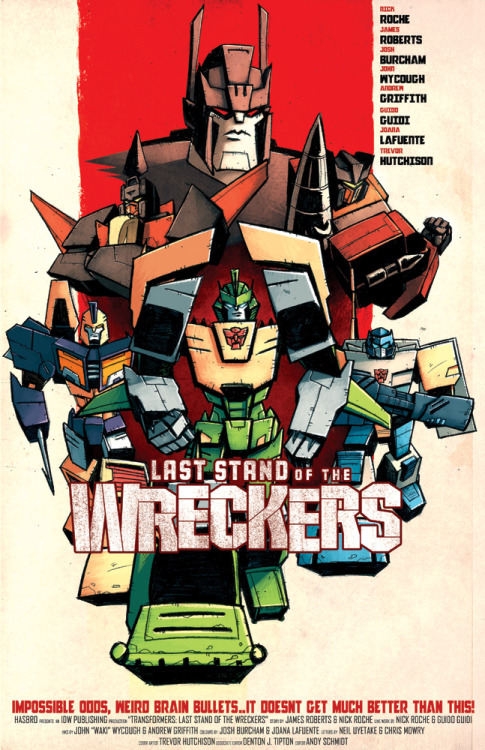 The Inglourious Wreckers poster by Josh Burcham