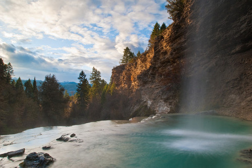 innaihtsiiyi:  Falls - Fairmont Hot Springs - British Columbia, Canada by wboland on Flickr.