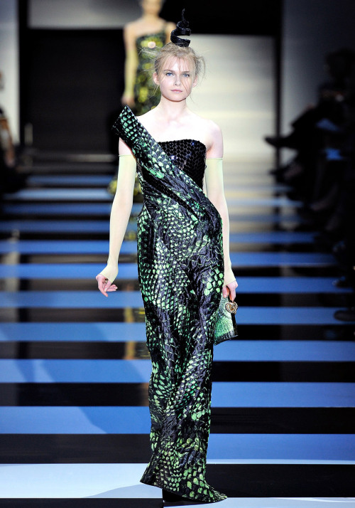 Armani Prive Spring 2012 Couture