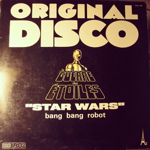 1977 Funk version of #starwars soundtrack, recorded in France (Taken with instagram)