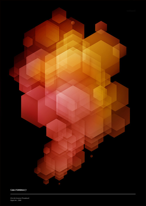 jlurosa:  hexagon poster