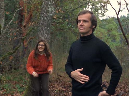 Jack Nicholson and Lois Smith in 'Five Easy Pieces' via betweentheseats