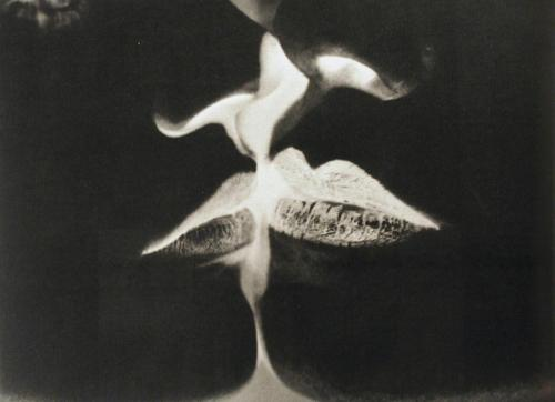 deadpaint:  Man Ray, Negative Kiss