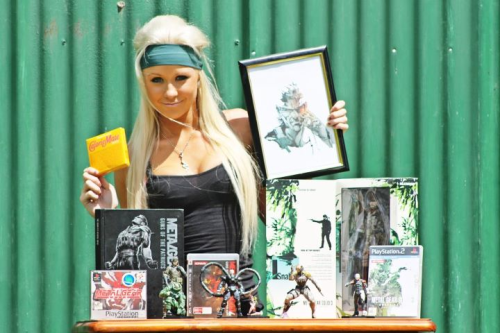 Tamika Rawson, an Australian model and Metal Gear Solid super-fan, will be featured in the HD version of MGS3 (her personal favorite). She will also be featured in my dreams.  ^o^