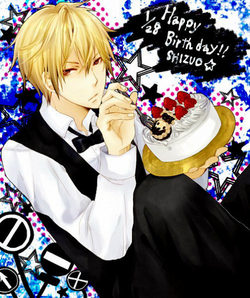 Happy Birthday to Shizuo Heiwajima from Durarara !!!!!