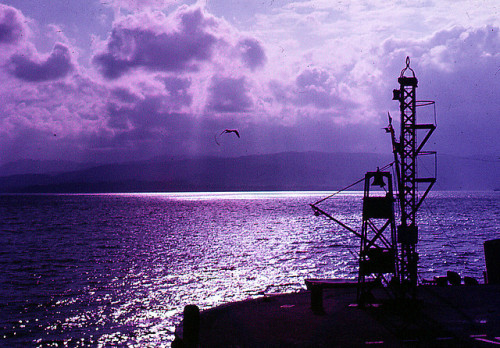 thatspotisnotastain:  The Clyde from Greenock Pier, 1967 by PhillipC on Flickr.