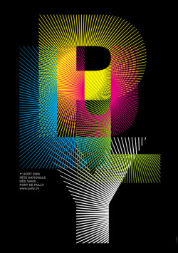 gregmelander:  PULLY A great poster design by Nicolas Zentner.