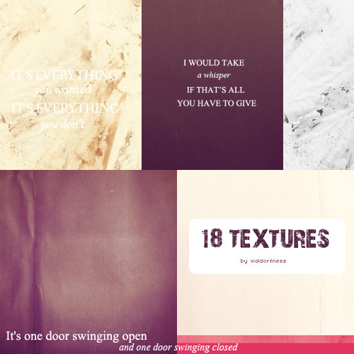 Textures pack #2: 18 different textures. Click HERE to download.- please like this post if you take!