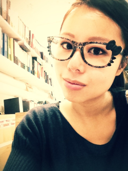 Hello kitty glasses!   rawrring-roro:  Weekend working cataloguing paintings is made even more enjoyable by these glasses!