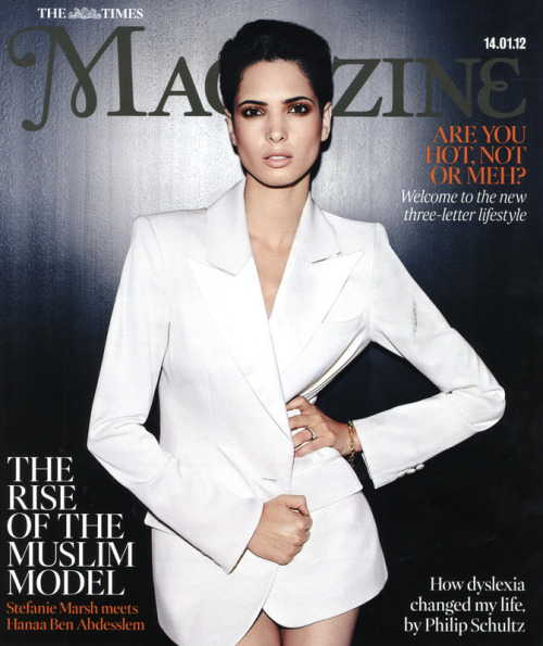 Time Magazine UK January 14, 2012 | J Hanaa Ben Abdesslem by Stephanie Marsh