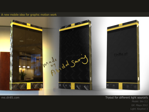 3D Mobile Light tryout by ~rsomat