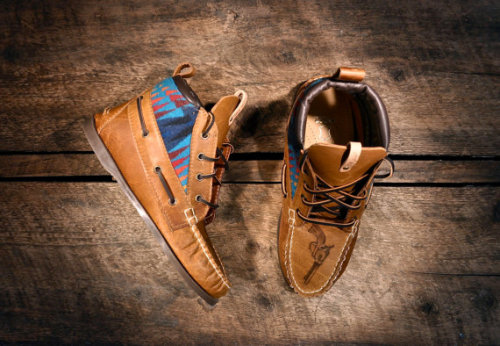 Hipster meets boat preppy. These are sick. Handcrafted HIGHTOP Leather Boat Shoes by lovejules