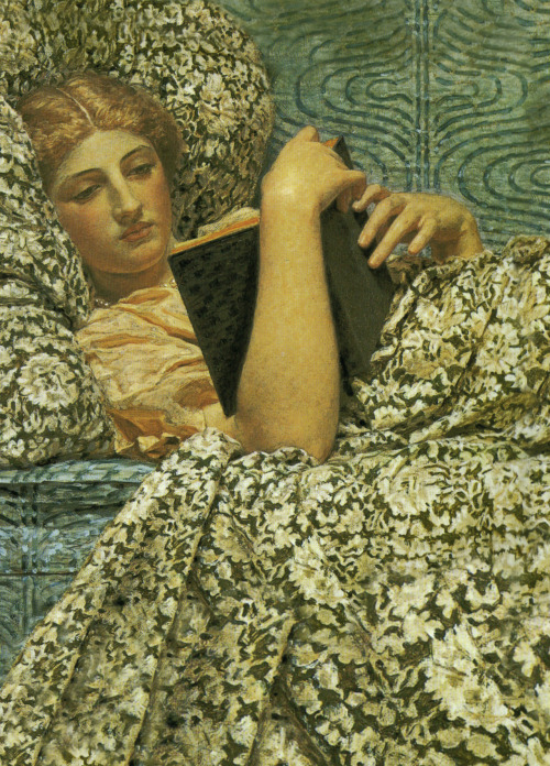 snowce:  Albert Joseph Moore, Red Berries (detail)