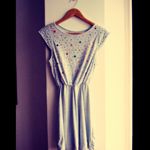 New. Sequin dress!