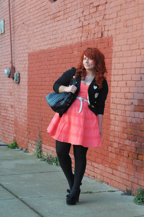 Pink Truffle — new outfit post on the blawgy blawg ft. my black velvet Jeffreys. Happy Saturday!