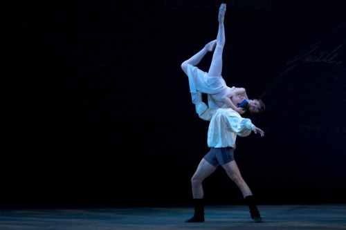 sarabex:  Evgenia Obraztsova & David Makhateli rehearsing Romeo and Juliet; photograph © 2011 Daniel Paul Jones.