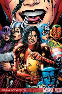 vincestoybox:   kikedck: The Female Avengers?  wait they are all the same girl