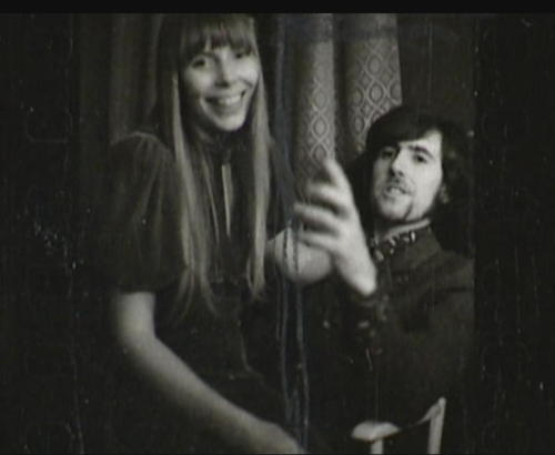 Joni Mitchell & Graham Nash, 1968
