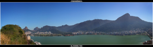 - PANORÂMICA: Lagoa Rodrigo de Freitas -http://www.flickr.com/photos/28131551@N06/6777594015/in/photostream