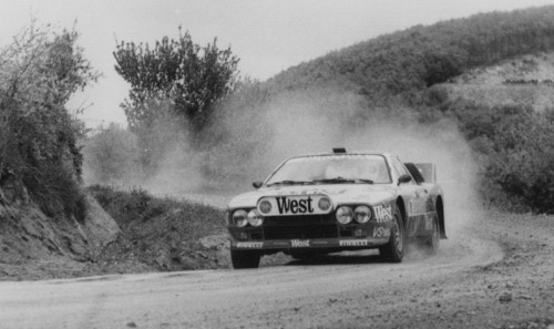 Lancia 037 Rally (driven by Carlo Caponne, 1984)