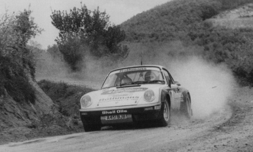 Porsche 911 at Rally Bulgaria (1984)