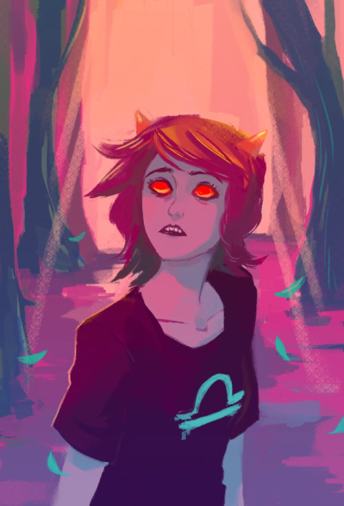 its-not-delivery-its-homestuck:  mokoudraws:  [s] make her pay  (for your viewing pleasure you can watch this drawing in process to snazzy music if you click here)   this is beautiful ;o;