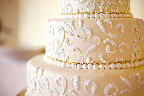 ilsuoamore:  Wedding Cake.