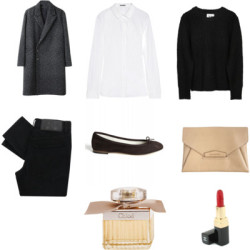 Untitled #12 by navyandgrey featuring an envelope clutch bag