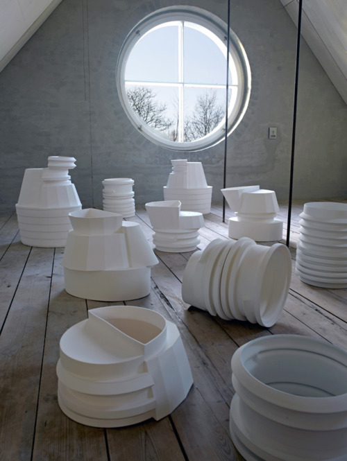 Bodil Manz and Bente Skjøttgaard: Cuts and Interventions, Copenhagen Ceramics