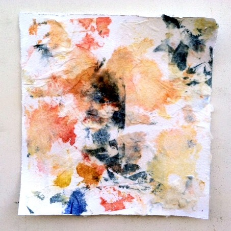 tailuh:  Paper towel, mod podge, and watercolors. By prettypeachpeonies.