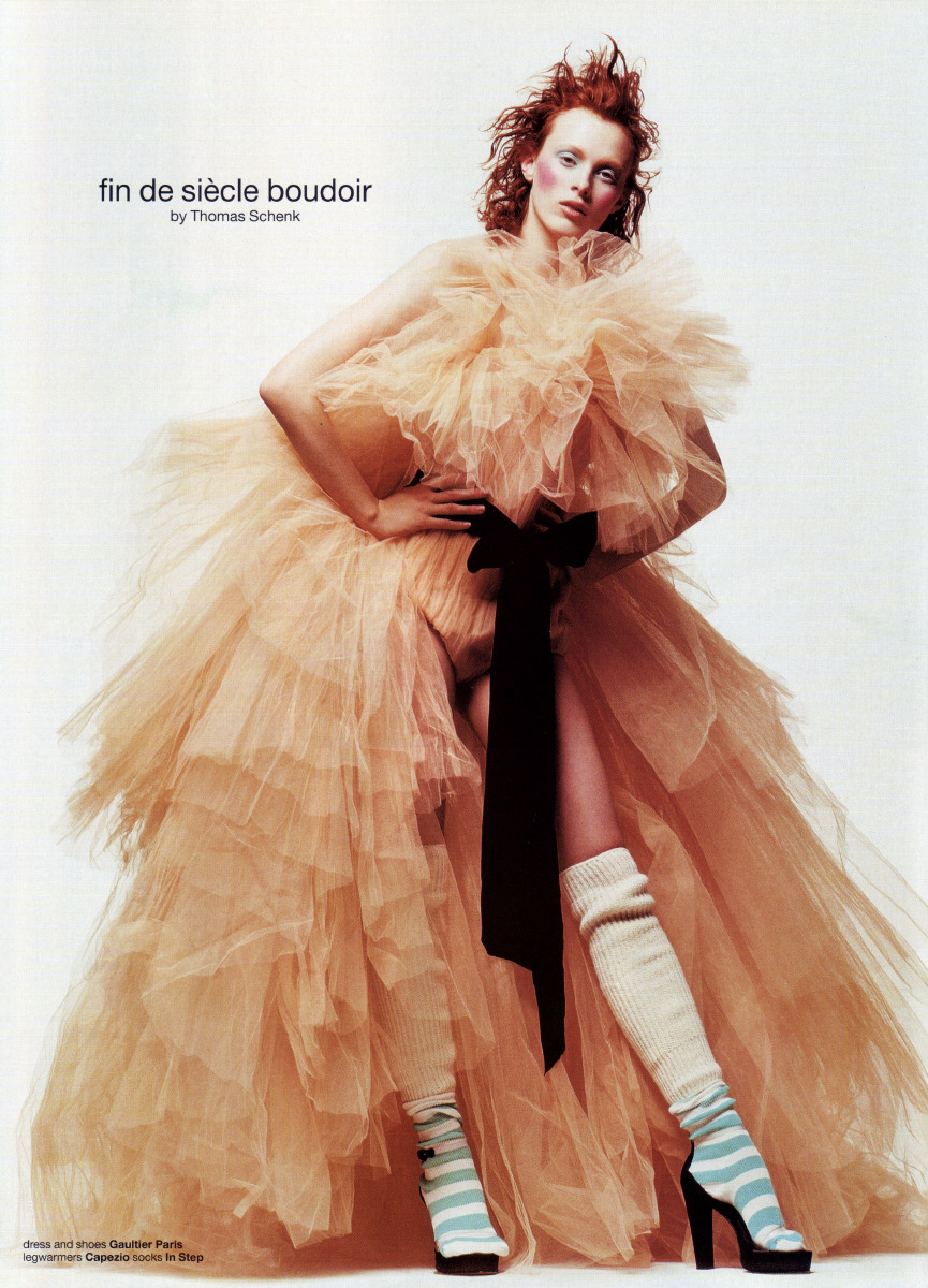 karen elson by thomas schenk // dutch magazine june 2002