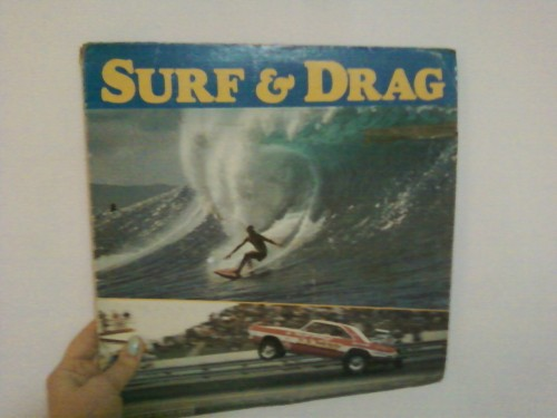 Look what we found today! Surf and Drag Racing vinyl compilation combo. Perfect!