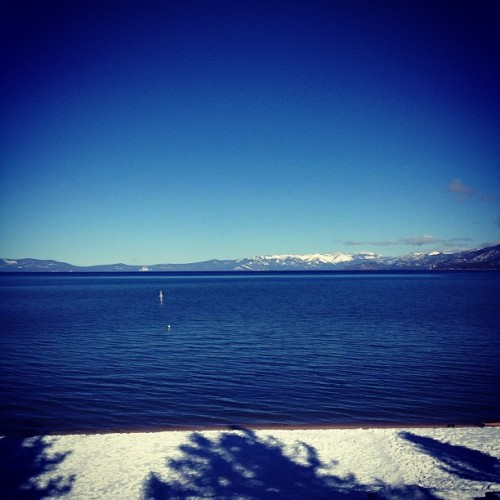 You wake up in Lake Tahoe