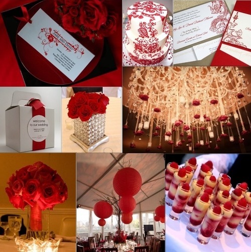 Red, Red and more Red! Loving the romantic feel. Bella Lucia Photography: Valentine's Wedding Inspiration.