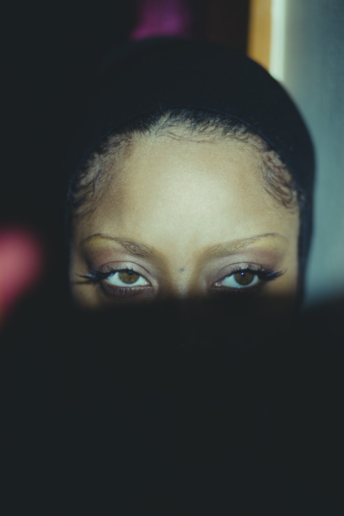 Erykah Badu shot by Nabil Elderkin for Oyster #97.