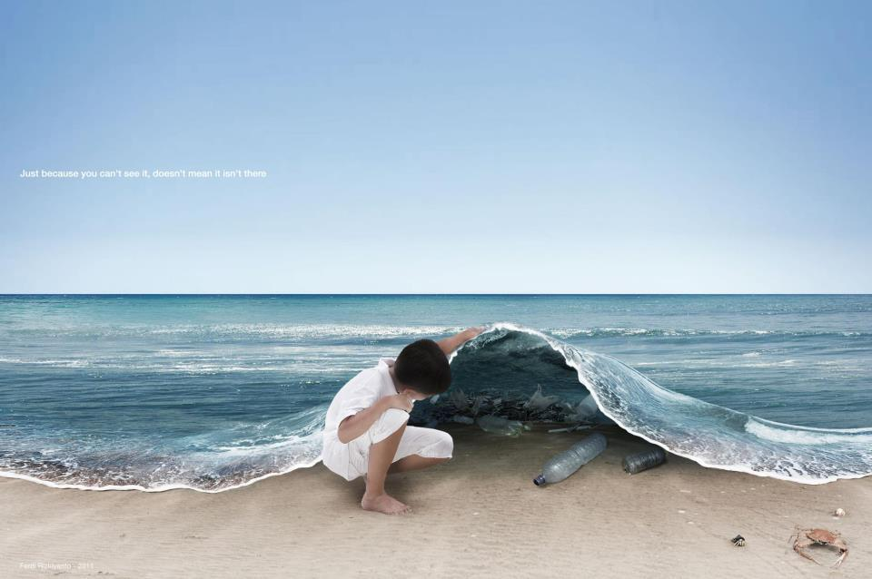 just because you can't see it doesn't mean it isn't there - by Ferdi Rizkiyanto
