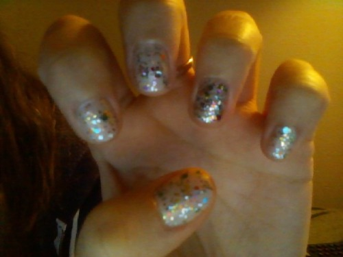 My nails. They look like cupcakes :)